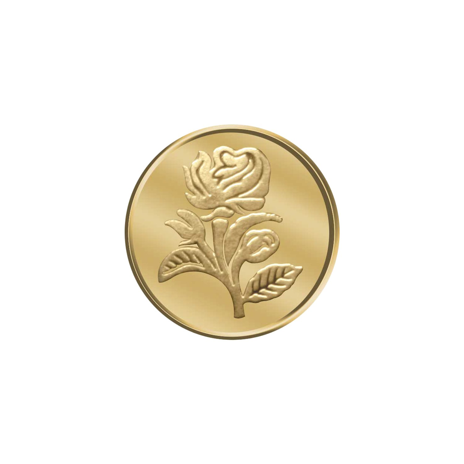 WearYourShine By PC Jeweller 10 grams 24k (995) Yellow Gold Precious Coin