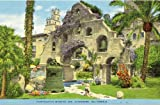 1940s Vintage Postcard Campanario Mission Inn Riverside California