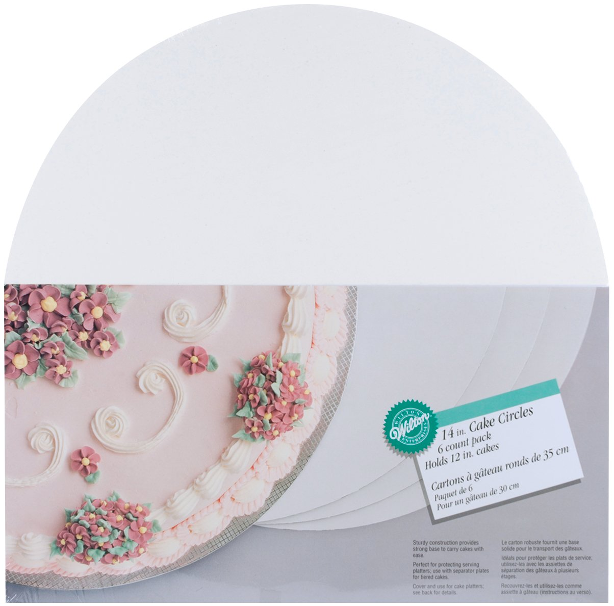 Cake Decorating Gun By Wilton : Wilton 6, 8, 10, 12, 14, 16-Inch Cake Circles eBay