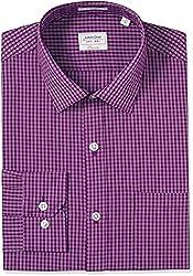 Arrow Men's Formal Shirt (8907378524249_ASSF0316_44_Light Purple)