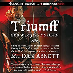 Triumff: Her Majesty's Hero Audiobook
