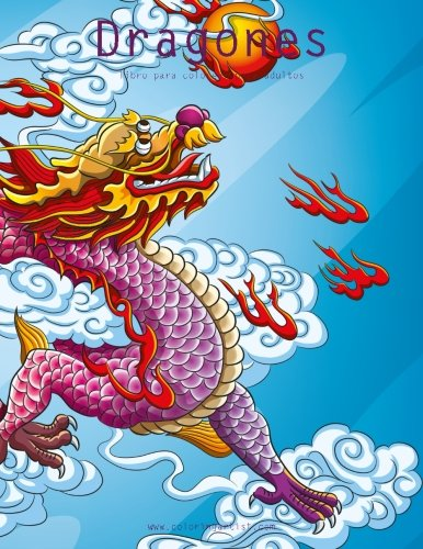 Dragones libro para colorear para adultos 1: Volume 1