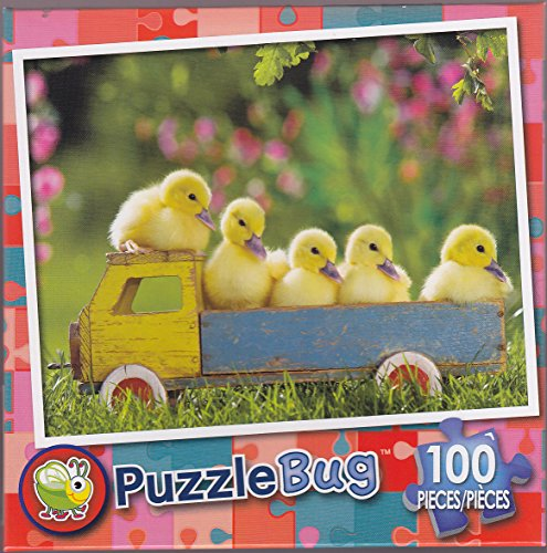 Puzzlebug 100 ~ Ducky Truck - 1