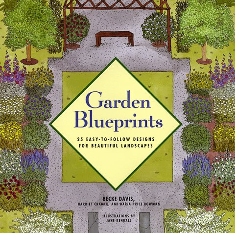 Garden Blueprints: 25 Easy-To-Follow Designs for Beautiful Landscapes