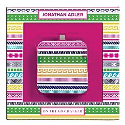Jonathan Adler On the Go Charger (8-pin), Architectural Borders