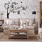 Vovotrade 180 * 250 cm Art 3D bricolage Photo Tree PVC Stickers muraux adhésifs Stickers muraux Murale Home Decor...