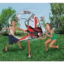 Banzai Hydro Blast Wacky Water Jet Toy Sprinkler