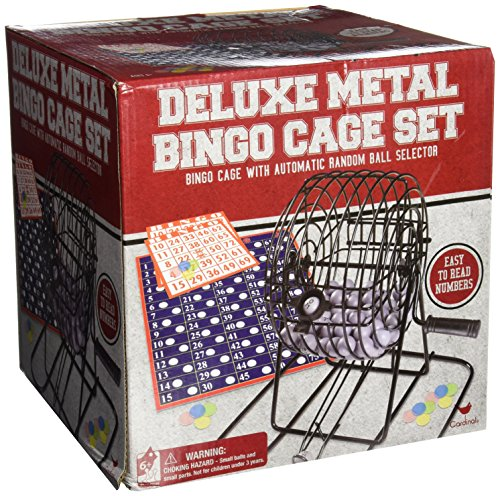 Deluxe Wire Cage Bingo Set (styles will vary) - 1