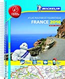 echange, troc Michelin - France 2016 Atlas - Laminated A4 Spiral