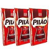 ブラジルコーヒー カフェ ピロン 250g×3個 (細挽き) Cafe Pilao 250g 【販売元:PatriaMinha(パトリアミンニャ)】