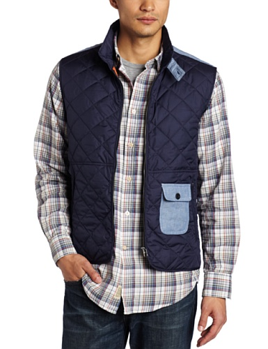jeans jacket for men Online: Faconnable Jeans Men's Outdoor ... : quilted vests for men - Adamdwight.com