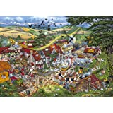 Gibsons Puzzle - I Love The Farmyard - 1,000 Piece Jigsawby Gibsons Games