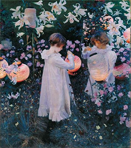 The Perfect Effect Canvas Of Oil Painting 'John Singer Sargent - Carnation, Lily, Lily, Rosem,1885-1886' ,size: 16x18 Inch / 41x46 Cm ,this Best Price Art Decorative Prints On Canvas Is Fit For Bar Decoration And Home Decoration And Gifts