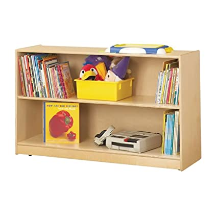 Jonti-Craft Kids Playschool furniture Low Adjustable Bookcase