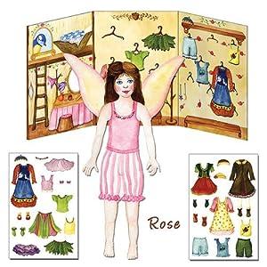 Paper Dolls - Fairy - Rose