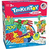 Tinkertoy 30 Model, 200 Piece, Super Building Set