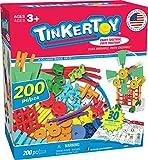 Tinkertoy 30 Model, 200 Piece, Super Building Set