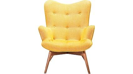 KARE Design de tela con reposabrazos retro con forma de sillón Angels Wings