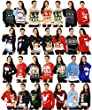 MENS LADIES UNISEX CHRISTMAS JUMPERS (XL, Reindeer fairisle navy)