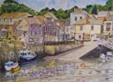 Padstow Harbour Cornwall art print from a watercolour painting by Alex Pointer