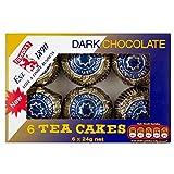 Tunnock's Dark Chocolate Teacakes (6 per pack - 144g)