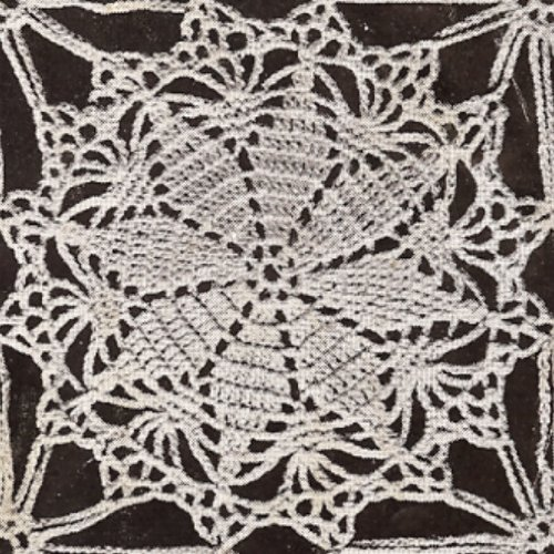 ROUND TABLECLOTH CROCHET PATTERN Round Tablecloth ...