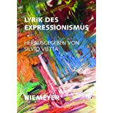 Lyrik DES Expressionismus (German Edition)