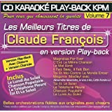CD Karaoké Play-Back KPM Vol.07 Claude François