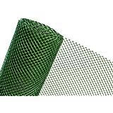 30m² Kunststoffzaun in 1,2m Höhe x 25m Länge Masche 20mm Gartenzaun grün