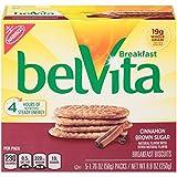 belVita Breakfast Biscuits, Cinnamon Brown Sugar, 8.8 Ounce (Pack of 6)