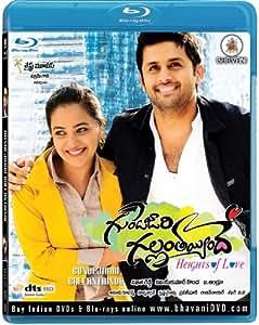 Amazon.com: Gunde Jaari Gallanthayyinde Telugu Blu-ray (with FREE
