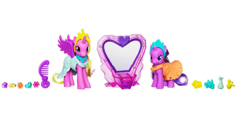 My Little Pony Twilight Sparkle & Princess Cadance Crystal Jewel Salon Set bestellen