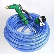 High Pressure Water Gun Irrigating Sprayer Nozzle Sprinkler+Connector+Hose 10M