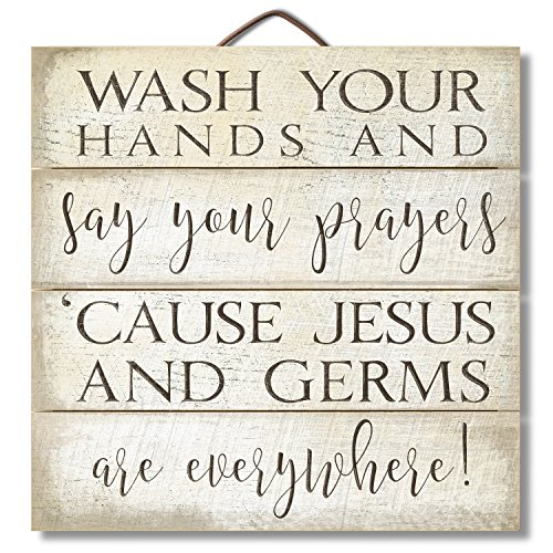 Rustic Germs and Jesus Sign