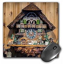 Danita Delimont - Jim Engelbrecht - Clocks - Cuckoo clock for sale, Rothenburg, Germany - MousePad (mp_188522_1)
