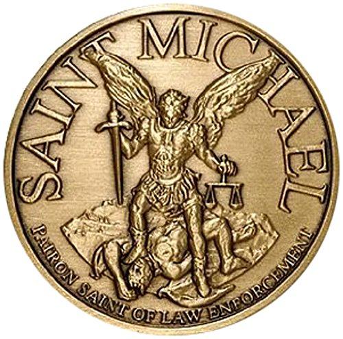Northwest Territorial Mint Bronze Antique Saint Michael-USMC