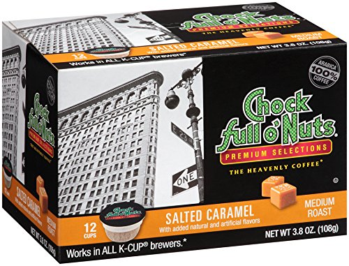 Chock Full o'Nuts Salted Caramel Coffee Keurig K-Cups, 24 Count (Chock Full O Nuts Coffee Cup compare prices)