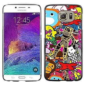KOKO CASE / Samsung Galaxy S6 SM-G920 / wallpaper random art spacesuit