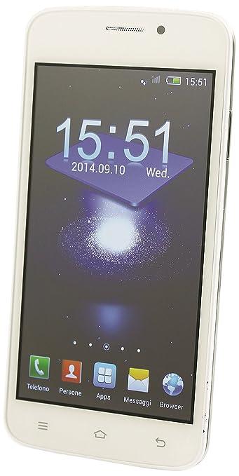 Kooper Mobile 2403839 Smartphone débloqué (Ecran: 4.2 pouces) Blanc (import Italie)