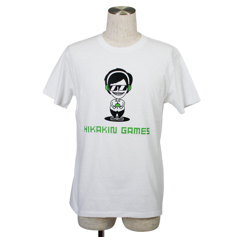 HikakinGames Tシャツ 白