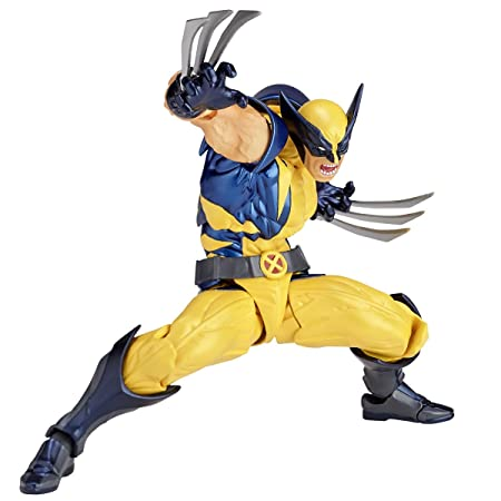 Figure Complex Amazing Yamaguchi Wolverine Approximately 155mm Abs Pvc Painted Action Figure Revoltech
