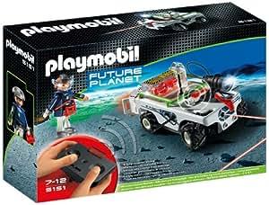 Playmobil Future Planet - 5151 - Jeu de construction - Vhicule E-Rangers command par infrarouge avec rayon lumineux