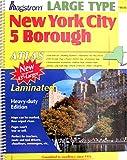 img - for Hagstrom New York City 5 Borough Laminated Atlas book / textbook / text book