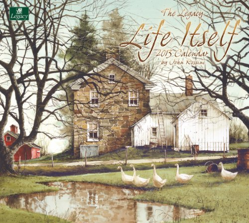 Cheap Legacy 2013 Wall Calendar, Life Itself by John Rossini (WCA9575) (B0089K3AZK)