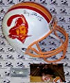 Doug Williams Autographed Hand Signed Tampa Bay Bucs Buccaneers Throwback Full Size Helmet - PSA/DNA