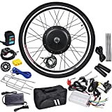 """AW 26""""x1.75"""" Front Wheel 48V 1000W 470RPM Electric Bicycle Hub Motor Speed Control Conversion Kit PAS System"""