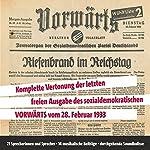 Vorwärts: Riesenbrand im Reichstag |  N.N.