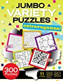 img - for Jumbo Variety Puzzles Extravaganza! book / textbook / text book