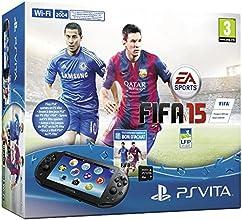 Console Playstation Vita 2016 + Fifa 15 (PS Vita) voucher + Carte Mémoire 4 Go pour PS Vita