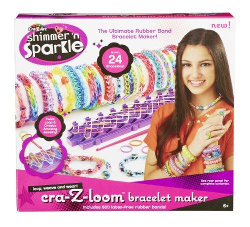 Cra-Z-Art Shimmer 'n Sparkle Cra-Z-Loom Bracelet